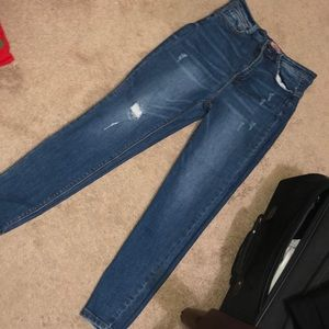 Medium wash jeans (worn once)